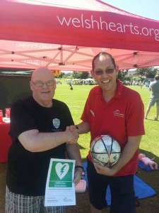 Welsh Hearts/Calonnau Cymru - The Heart Charity for Wales - North Wales Dragons